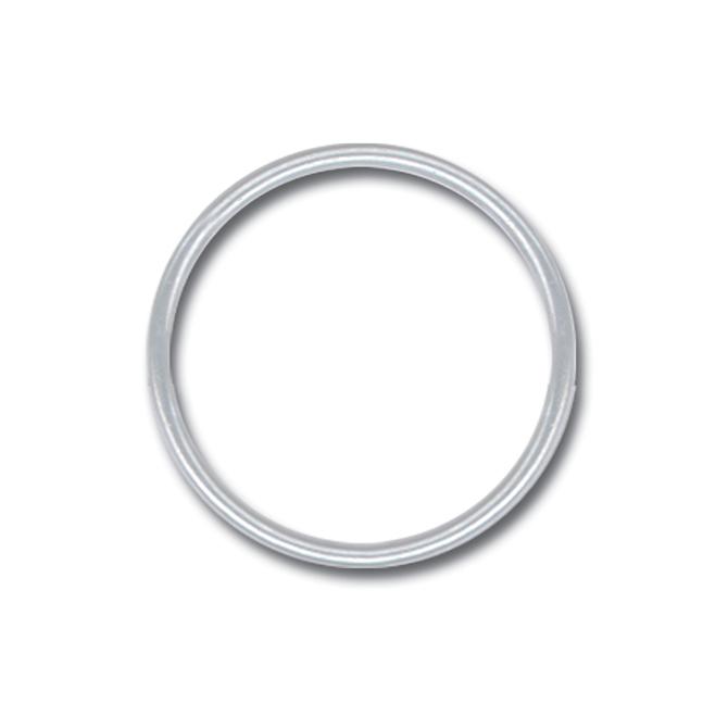 """7/8"""" Metal Key Ring"""